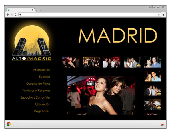 alto madrid web