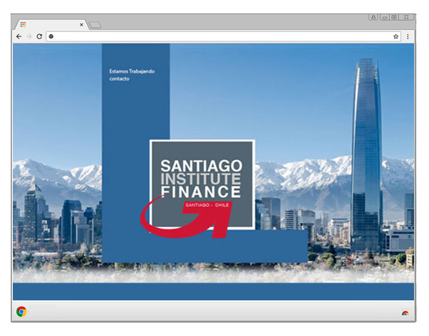 santiago institute finance web