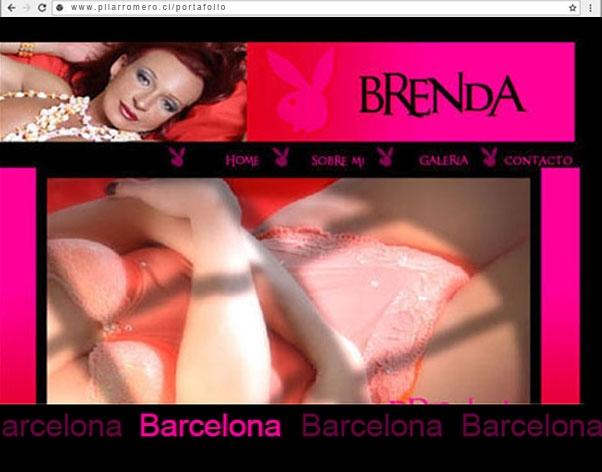 Web Brenda Barcelona