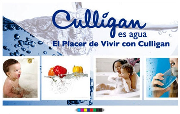 Cartel d'Aigua Culligan