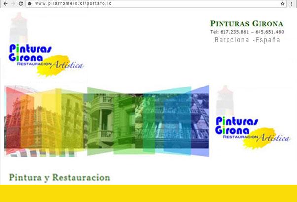 Web Pinturas Girona