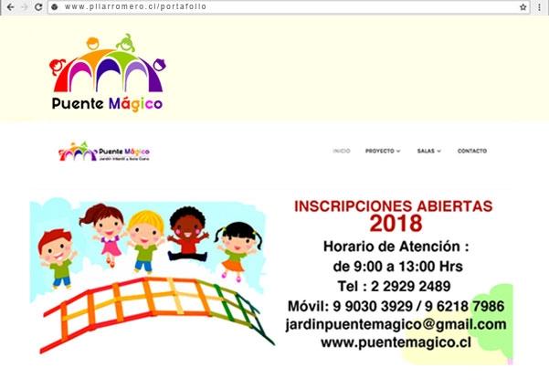 Web Puente Magico