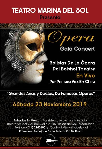 Afiche Opera