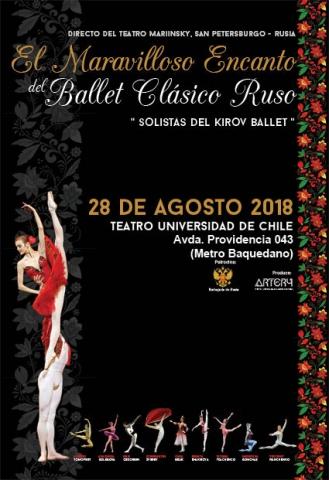Afiche Ballet Ruso