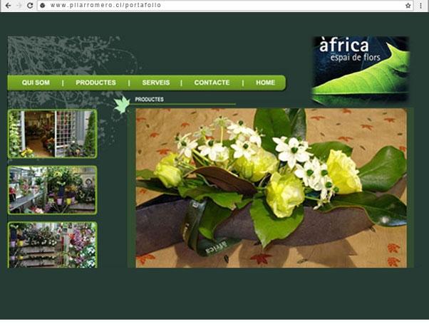 Web Africa Espai de Flors