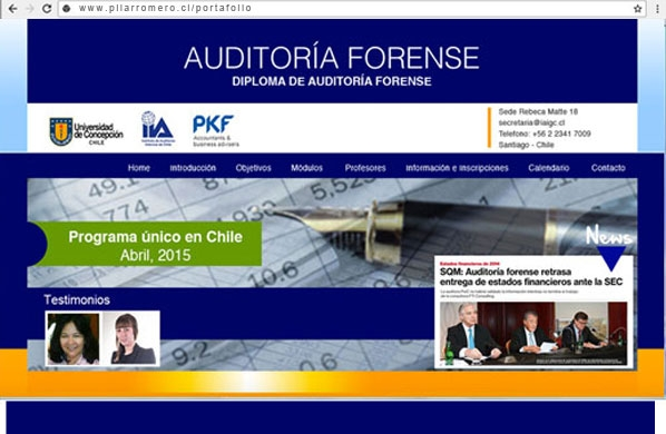 Web auditoria Forense