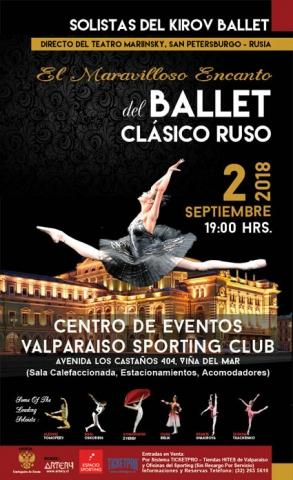 Afiche Ballet Kirov