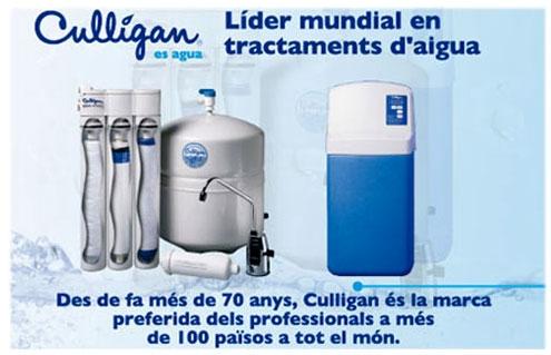 Aviso d'Aigua Culligan