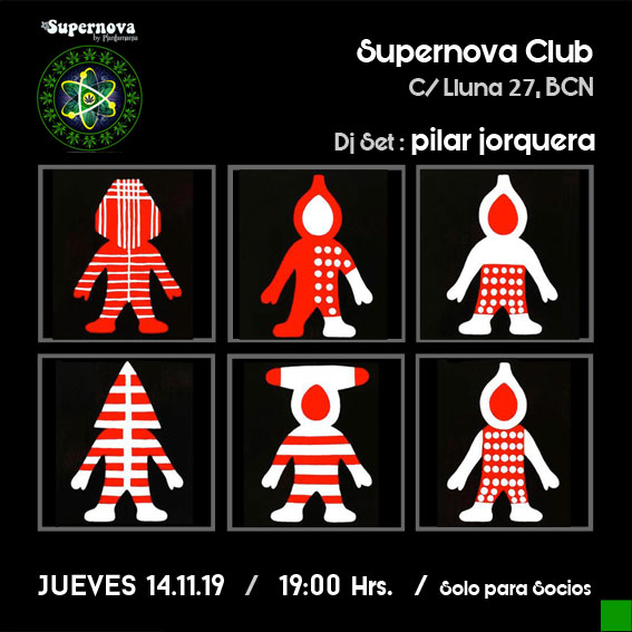 Flyer Club Supernova Barcelona