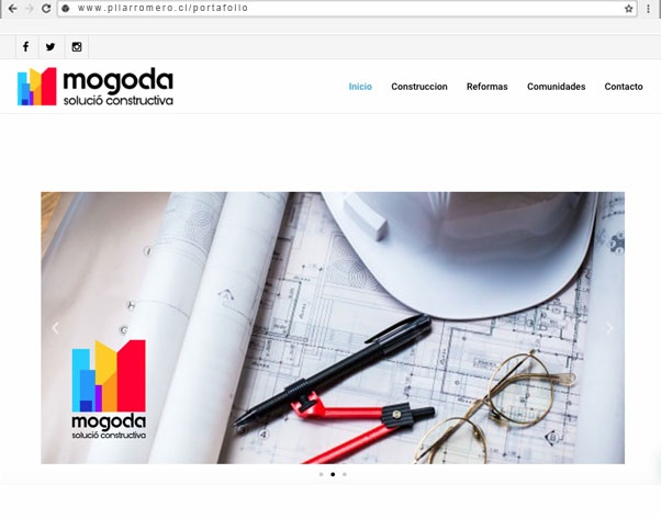 Web mogoda solució constructiva Barcelona