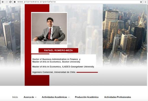 Web Rafael Romero